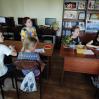 Альбом: У читальній залі Люботинської публічної бібліотеки пройшов майстер-клас