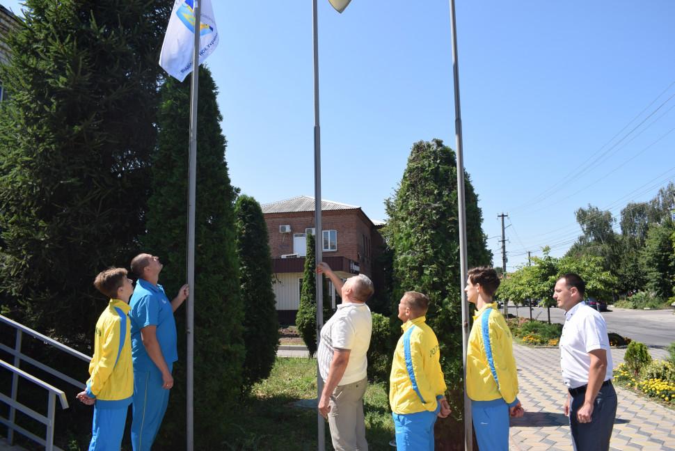 Альбом: Люботинська громада у естафеті громад «Підйом Олімпійського прапору»