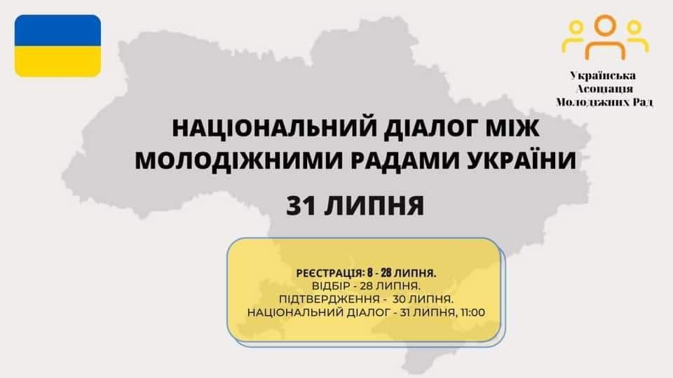 Альбом: Українська Асоціація Молодіжних рад 31 липня провела національний діалог між молодіжними радами в Україні,