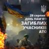 Альбом: 29 серпня – День пам'яті захисників України, які загинули в боротьбі за незалежність, суверенітет і територіальну цілісність України