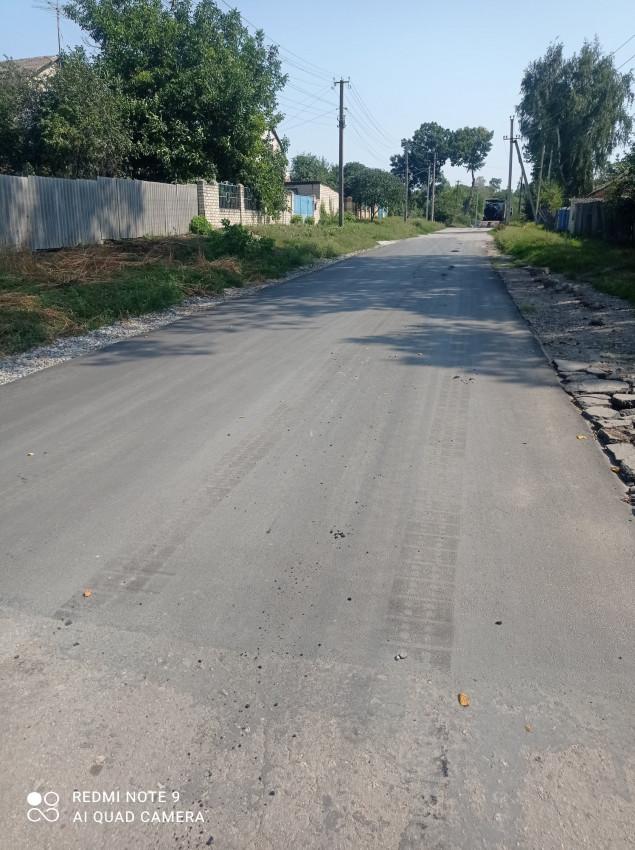 Альбом: Проведено поточний ремонт чергової ділянки дороги по вулиці Полтавський шлях.