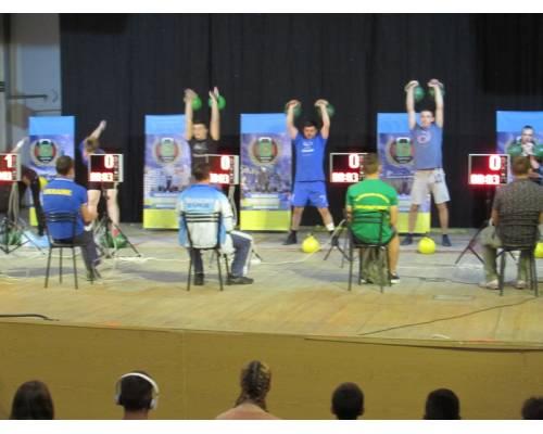 Фінальні змагання з гирьового спорту