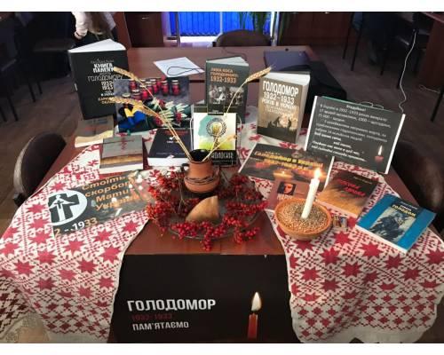 Заходи «До Дня пам'яті жертв голодоморів»