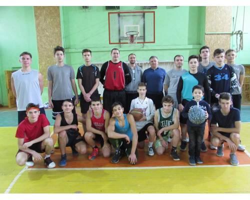 Спортивно – масові змагання з баскетболу серед дорослих та юнаків старших вікових категорій з нагоди Дня Збройних Сил України.