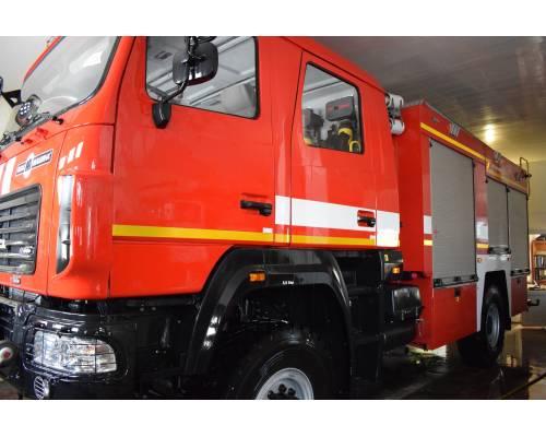 У 48 Державній пожежно-рятувальній частині м. Люботина з'явився новий автомобіль – автоцистерна пожежна АЦ-4-60 (530927)-515М.