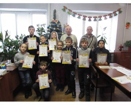 Спортивні змагання з шахів серед дітей, дівчат і юнаків, з нагоди зимових свят
