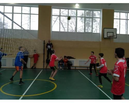 Турнір з волейболу «Спортивна зима – 2020»