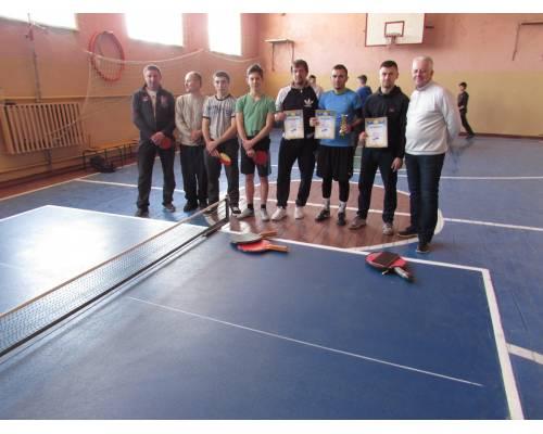 Турнір з тенісу настільного