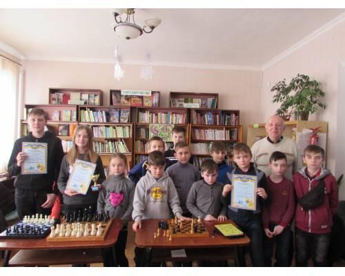 Шаховий турнір серед дітей «Спортивна зима – 2020»