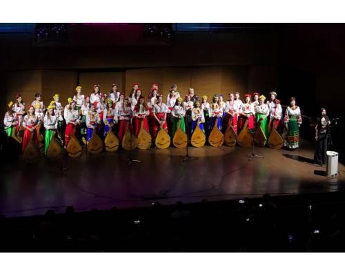 Концерт юних виконавців на народних інструментах