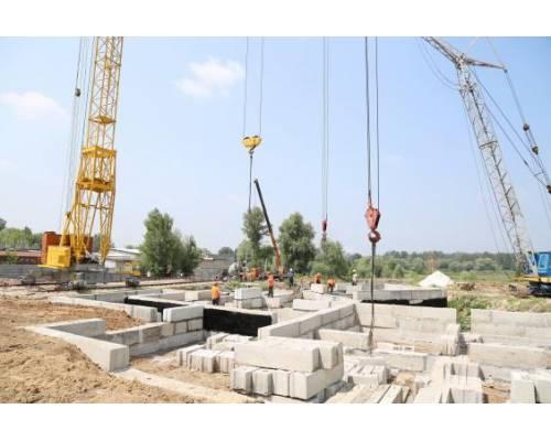 Виділені кошти на «Велике будівництво» у Харківській області