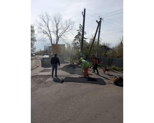 Триває ремонт доріг у м. Люботині
