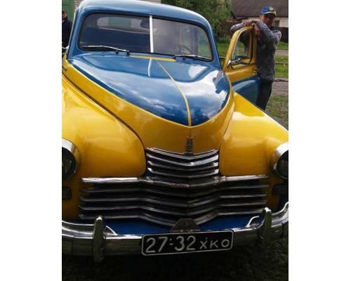 Колекція ретро-автомобілів міста Люботин поповнилася експонатом ГАЗ-20 ПОБЕДА 1955 року випуску.