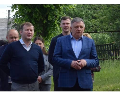 Сьогодні у місті Люботині із робочою поїздкою перебував заступник голови Харківської обласної державної адміністрації Руслан Тихонченко