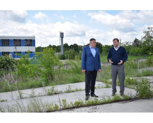 Руслан Тихонченко ознайомився з роботами щодо створення комплексу з управління відходами в Люботині