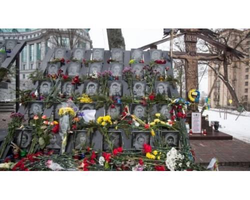 До Дня Героїв Небесної Сотні в Україні