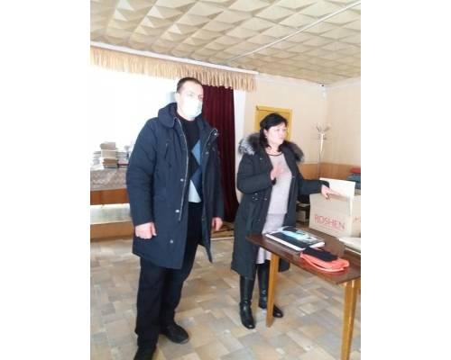 У приміщенні Манченківської селищної ради щосереди проходять прийоми громадян.