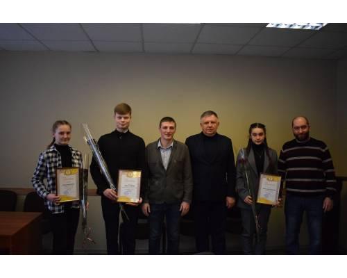 25 лютого відбувся урочистий прийом міським головою Леонідом Лазуренком кращих спортсменів громади