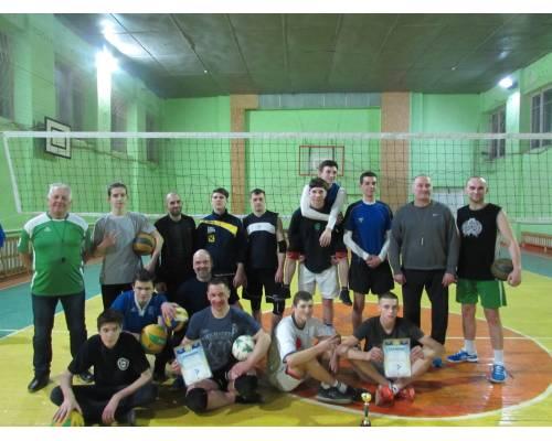 Турнір з волейболу «Спортивна зима»