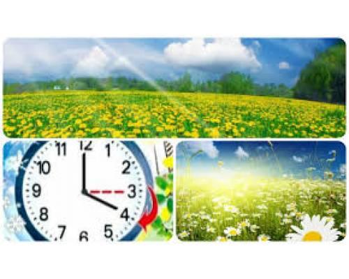 Перехід на літній час 2021