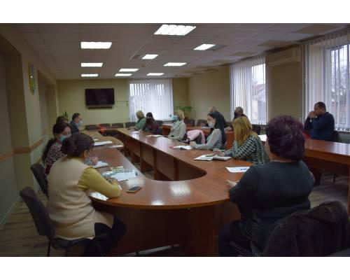 24 березня 2021 року під головуванням заступника міського голови Вячеслава Рубана пройшло засідання робочої групи