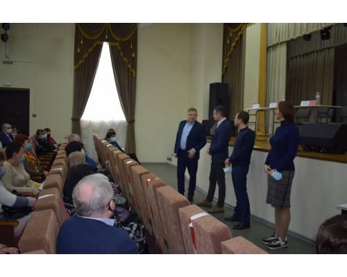 Робочий візит до м. Люботина керівників ХОДА