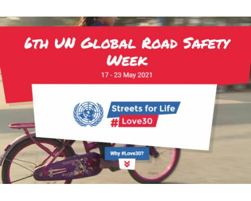 З 17 до 23 травня відбудеться шостий Глобальний тиждень безпеки дорожнього руху