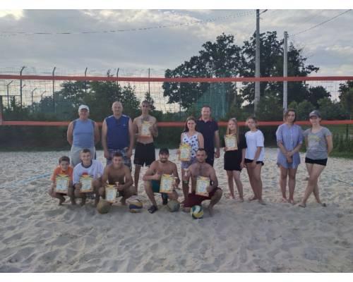 Спортивно – масові змагання з пляжного волейболу, присвячені Дню молоді.