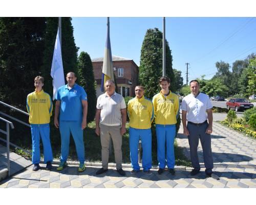Люботинська громада у естафеті громад «Підйом Олімпійського прапору»