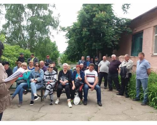 У Люботинській міській територіальній громаді проходять збори громадян за місцем проживання