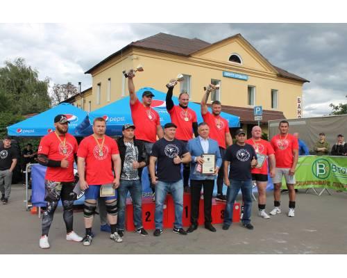 До Дня міста Люботина спортивний турнір «Ігри богатирів України 2021» 6 тур на майдані Соборному