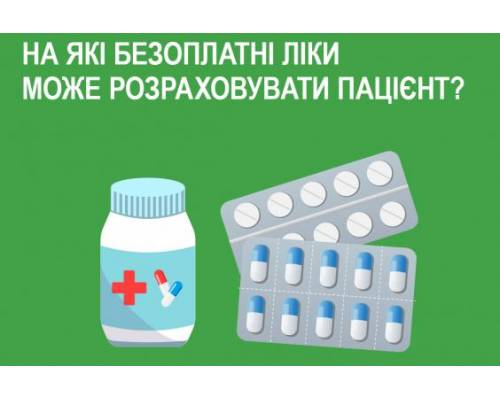 У НСЗУ розповіли, на які безоплатні ліки може розраховувати пацієнт
