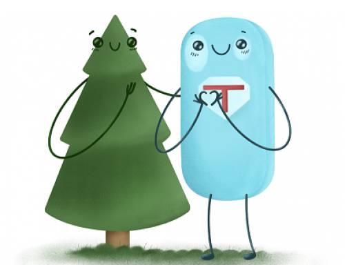 Посади дерево і допоможи онкохворим дітям: