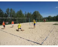 Обласна Спартакіада з пляжного волейболу!